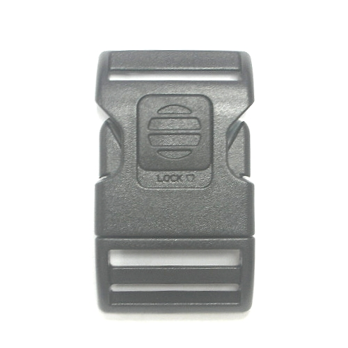 lock side release buckle