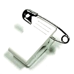 Plastic Bulldog Clip with Pin