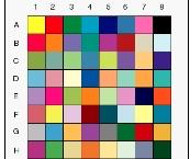 電鍍顏色表