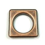 metal square eyelet