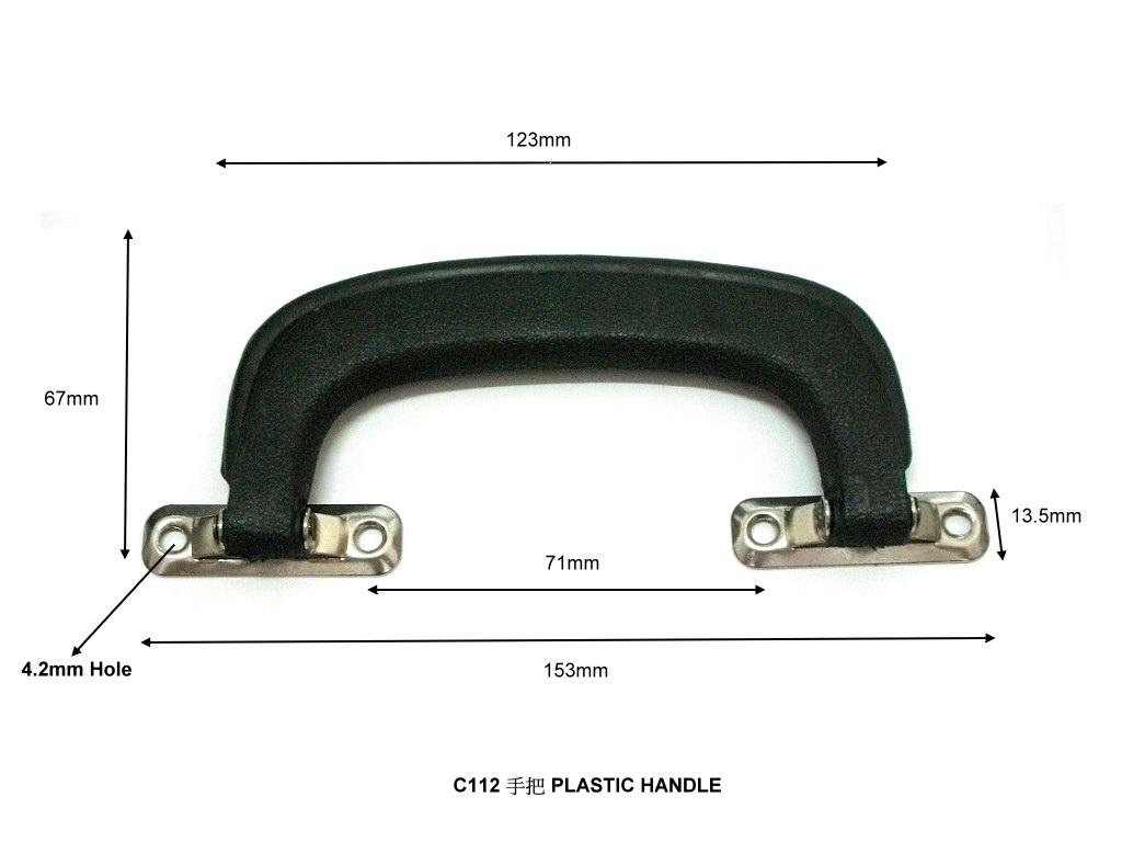 Luggage handle protector film