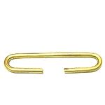 brass oval ring