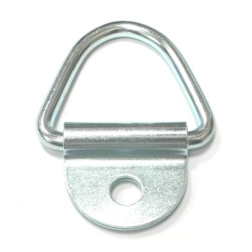 單孔套片D形環
