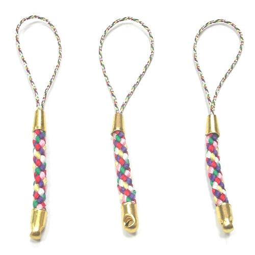 六色編織繩吊飾
