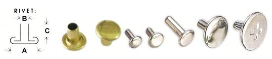 metal tubular rivet