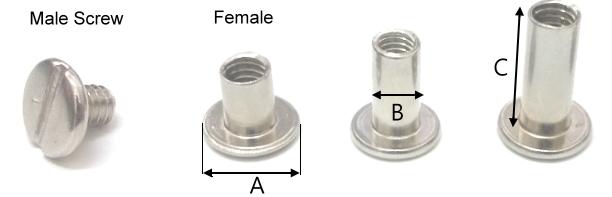 公母螺絲釘