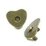 heart magnetic button