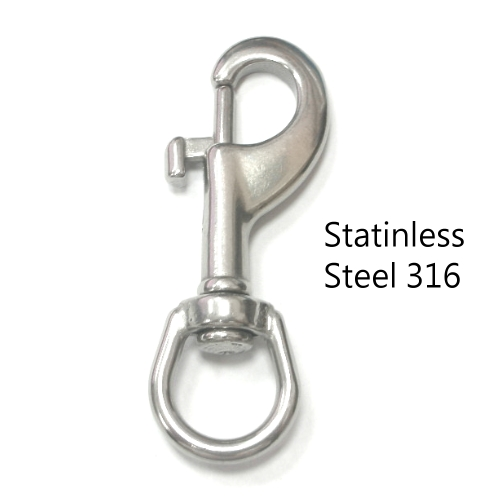 stainless steel 316 snap hook